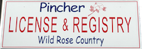 Pincher License & Registry